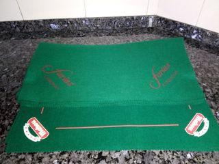 tapete para jugar a cartas 2€ cada uno