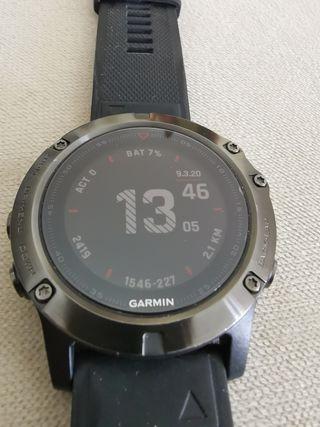 Garmin Fénix 5X Zafiro