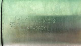 escape original kawasaki versys 650