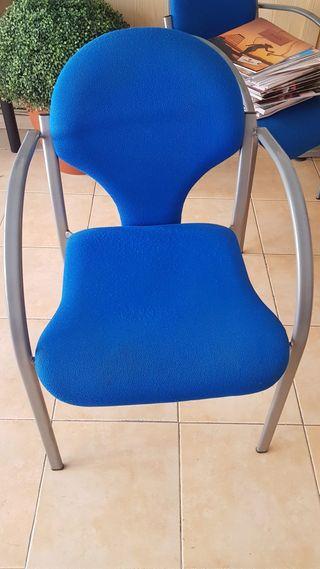 Lote de sillas de oficina