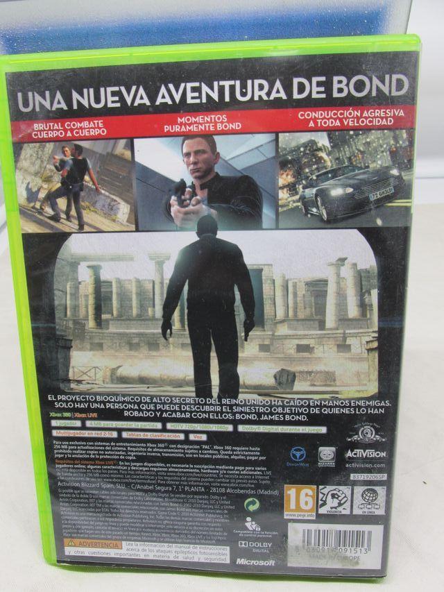 007 Blood Stone Videojuego Xbox 360