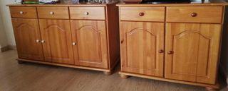 Muebles de pino provenzal