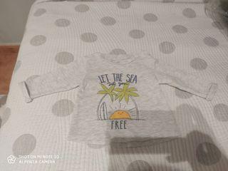 camiseta talla 3 meses
