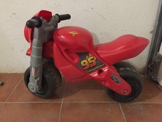 Correpasillos moto Rayo Mcqueen