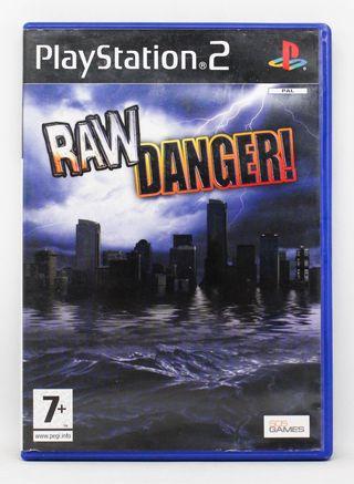 RAW Danger PlayStation 2 PAL España