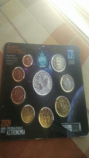 monedas San Marino CCs,series n blister o estuche