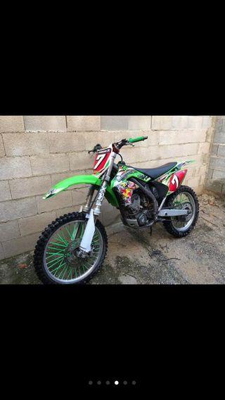 Kawasaki kx 250cc 2006