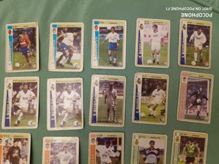 Lote 40 cromos fichas liga fútbol 1994 1995
