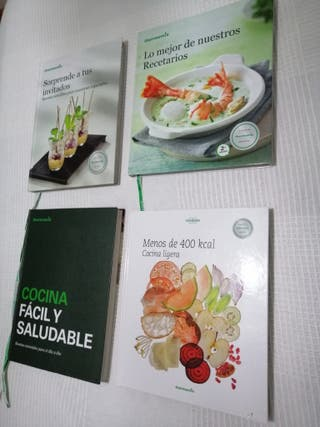 4 libros thermomix y 10 revistas