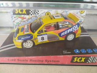 SCALEXTRIC SEAT CORDOBA WRC