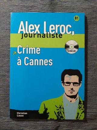 "Libro lectura francés B1 ""Crime à Cannes"""