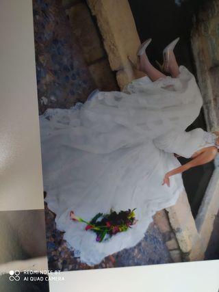 vestido de novia talla 36