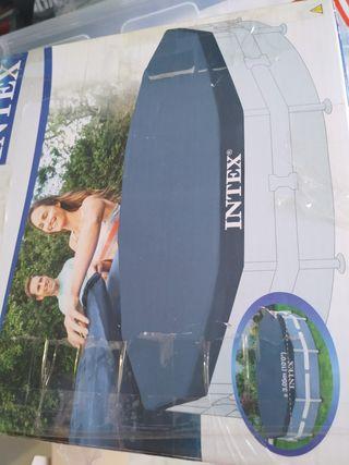 piscina redonda 3metros con todo para mantener