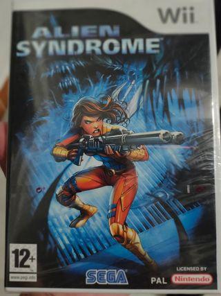 Alien Syndrome - Juego Wii - Nuevo