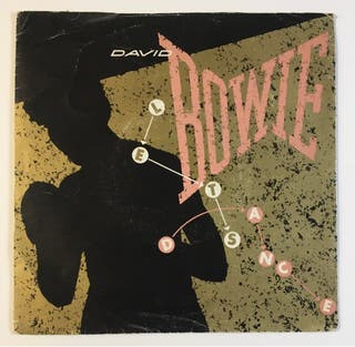 DAVID BOWIE Let's Dance Disco Vinilo Single