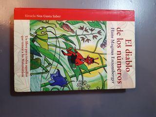 """Libro """"El diablo de las matématicas"""""""
