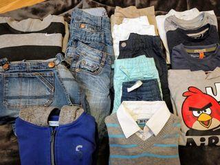Lote de 17 prendas de ropa de niño 4-6 años