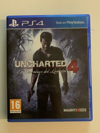 Uncharted 4, ps4