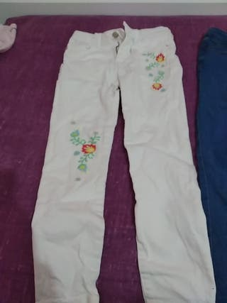 pantalón niña 7 a 8 años