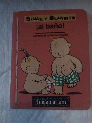 Suave y Blandito. Al baño!. Imaginarium. Mojable.