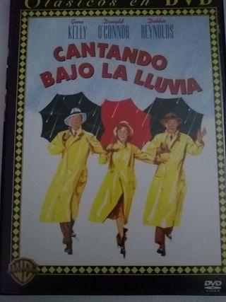DVD Cantando bajo la lluvia.