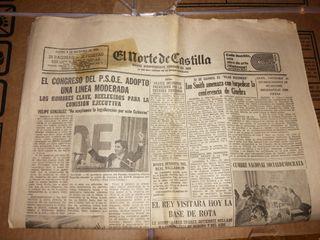 Periodico antiguo, de 1976