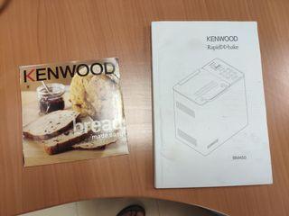 Panificadora Kenwood BM450. Acero inoxidable