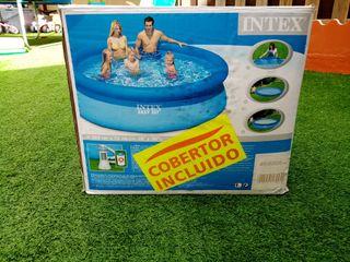 Vendo piscina en perfecto estado con depuradora de