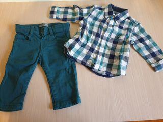 pantalon + camisa manga larga de Losan