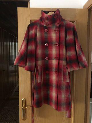 Abrigo tipo capa de cuadros de Springfiel