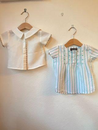 Camisas bebe 6 a 9 meses
