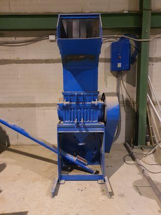trituradora de 40 cv para plastico y madera