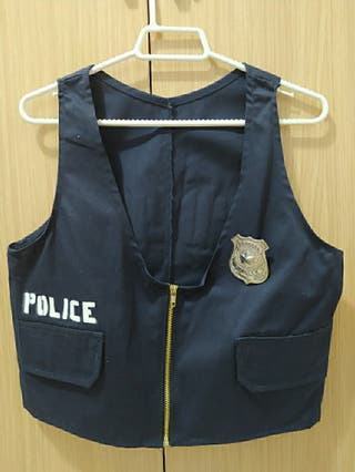 Chaleco Disfraz Policía