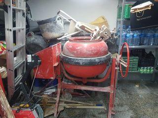 Hormigonera el motor hay que arreglarlo
