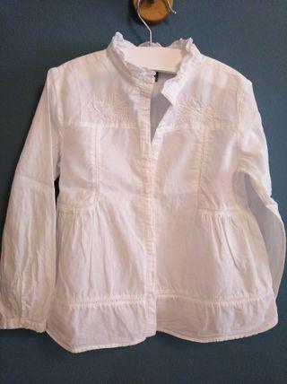 Camisa 4-5a. niña manga larga