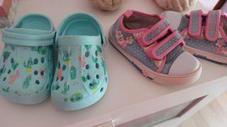 lote zapatos 23 y 24