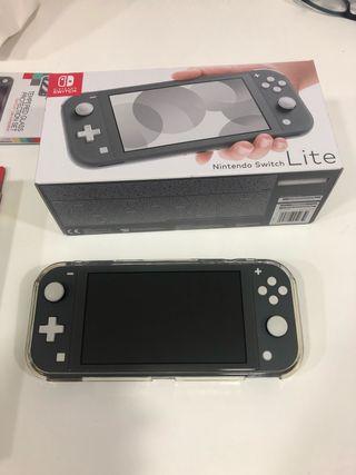 Nintendo switch lite nueva + juegos