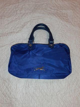 bolso bomba y lola azul