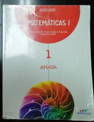 Matemáticas I 1°Bachillerato