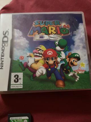 super Mario 64 Ds + Pokémon mystery dungeon