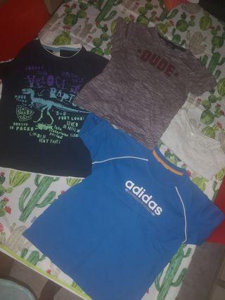 camisetas niños 6 años