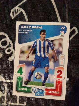 Omar Bravo 72. Play liga 2008 /2009. Panini