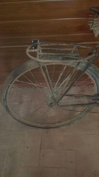 bicicleta antigua frenos de varillas
