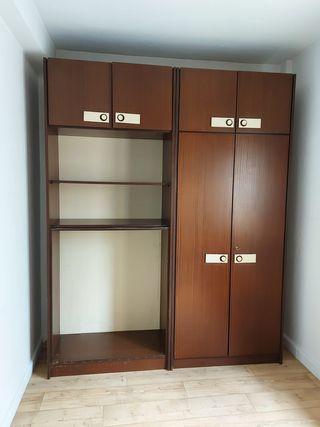 Armario de madera 235x95x50