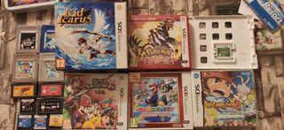 Juegos Game Boy, Nintendo Ds y 3DS