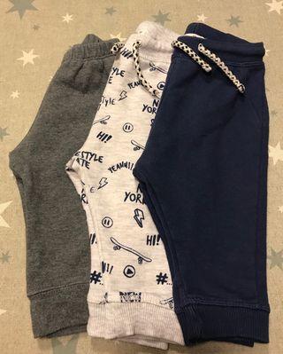 Pack 3 Pantalones Bebé