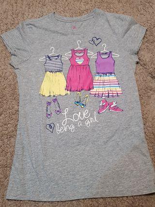 camiseta chica verano USA