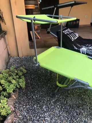 Tunbona reclinable diferentes posiciones