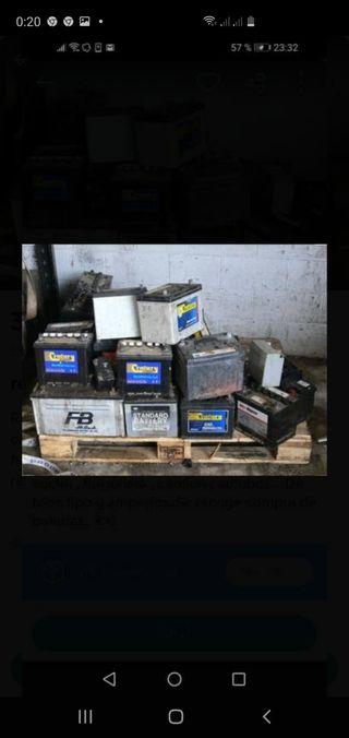 Recuperación de baterias
