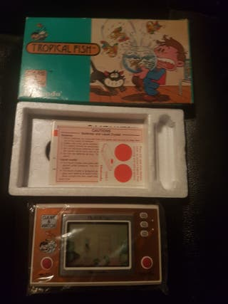 game and watch tropical fish completa